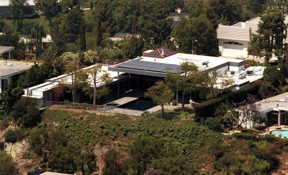 Matthew Perry Beverly Hills Celebrity Homes Lonny
