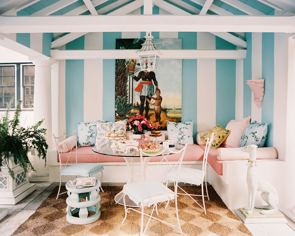 10 Dreamy Patio Ideas For Summer. Pretty In Pastels