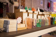 Soaps and other gift-ready items at Thomas Sires