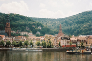 A view of Heidelberg, Germany