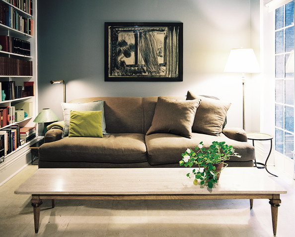 Brown Couch Coffee End Tables Photos 1 Of