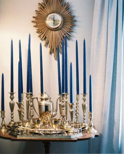 Trend We Love: Bright Blue Candles