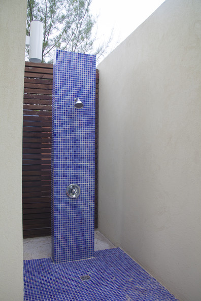 Bathroom photos 142 of 1019 lonny Bright blue tile