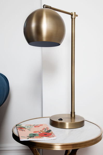 Brass Task Lamp Photos, Design, Ideas, Remodel, and Decor - Lonny