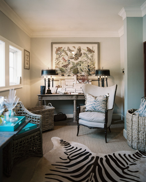 Christy ford photos 13 of 35 lonny for Living room ideas with zebra rug