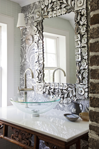 Paisley Wallpaper Photos, Design, Ideas, Remodel, and Decor - Lonny