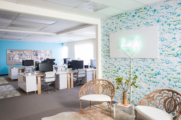 Homepolish Lonny Office Makeover Photos (1 of 10)