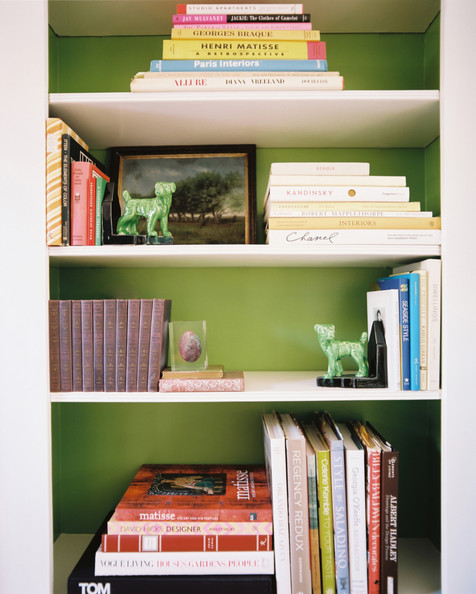Green Bookcase Photos Design Ideas Remodel And Decor