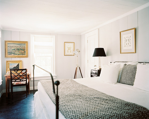 Metal Bed Photos 1 Of Beach Colonial Bedroom