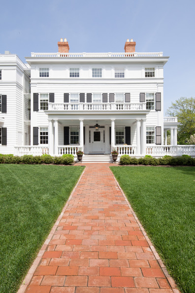 Red Brick Walkways Photos, Design, Ideas, Remodel, and Decor - Lonny