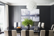 Molly Sims's formal dining room