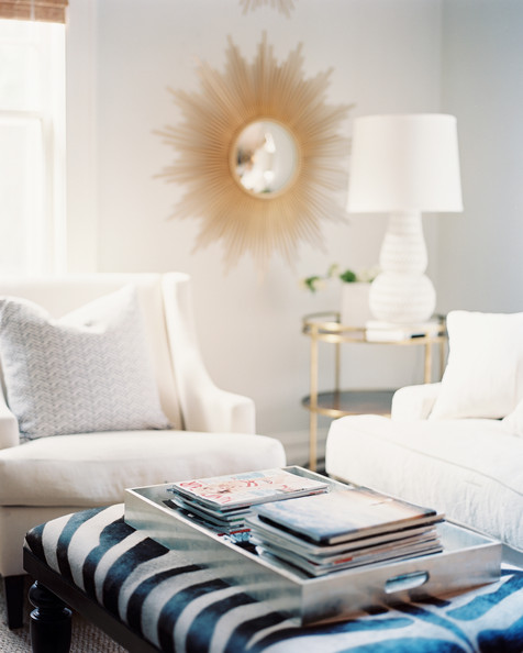 White living room photos 311 of 1171 lonny - White and silver living room ...