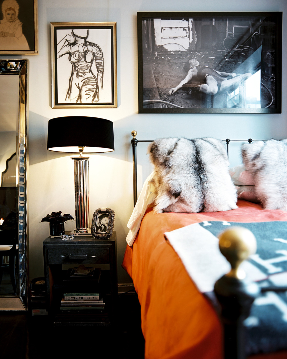 Black and orange bedroom - Black And Orange Bedroom 51