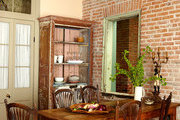 The eclectic dining area of a New Orleans home