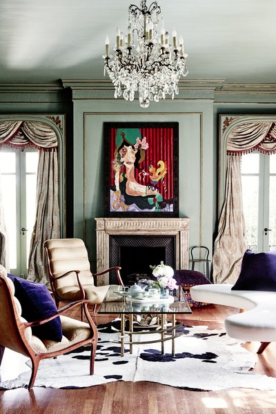 Exceptional Hollywood Regency Living Room Photos (1 Of 38)