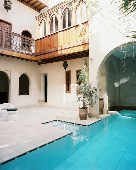 Moroccan Patio Photos (10 of 32) []