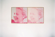 Silkscreened portraits by Andy Warhol of Menil Collection founder Dominique de Menil