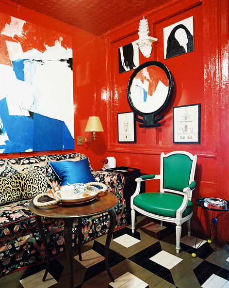 Designer Nick Olsen's former NYC apartment.