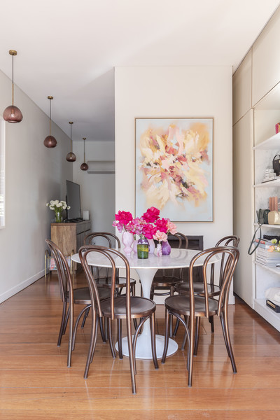 Pink Dining Room Photos (7 of 70)