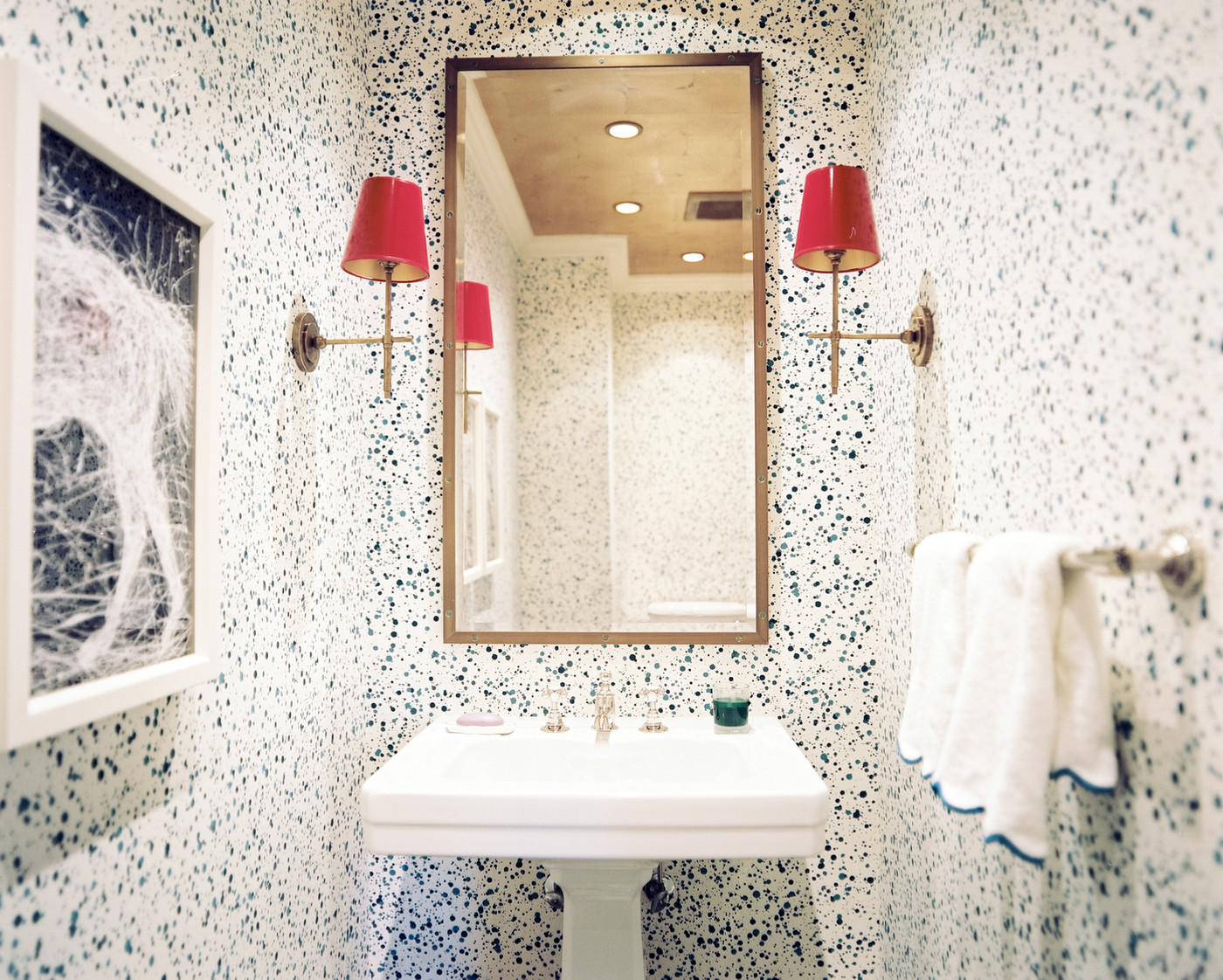 Powder Room Wallpaper Design Ideas Lonny