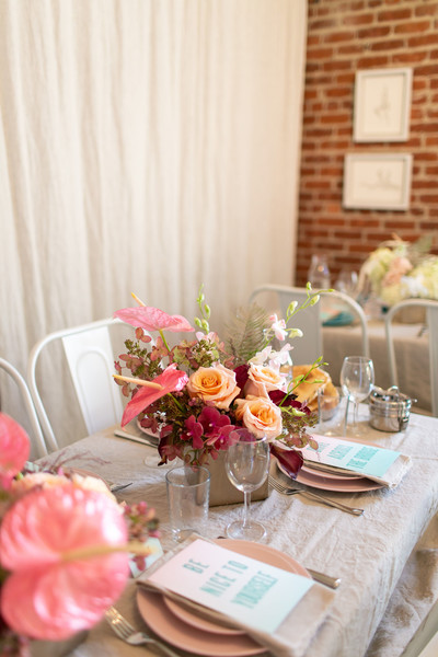 Pink Tablescape Photos (5 of 56) []