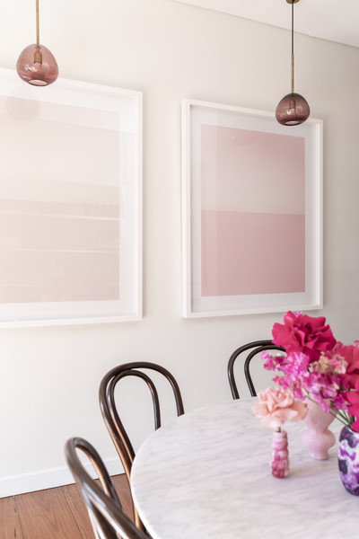 Pink Dining Room Photos (1 of 70) []