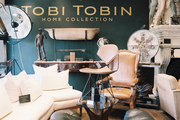 An eclectic mix of fine furniture at Tobi Tobin's Sunset Boulevard boutique