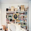 Create a Focal Point on a Bookshelf