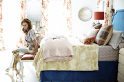 Samantha Knapp in her bedroom.