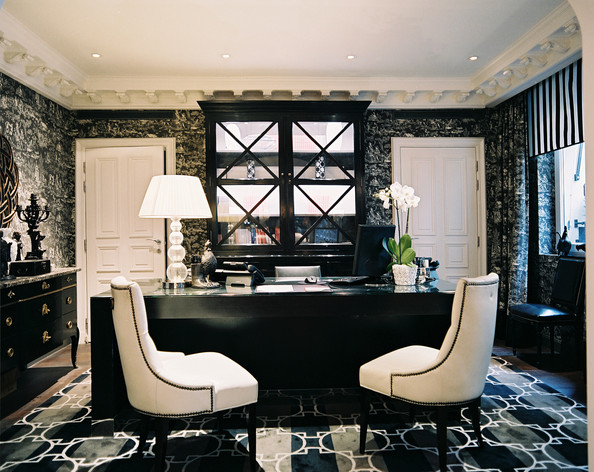 Tremendous Executive Office In Hotel Keppler Home Office Design Ideas Lonny Largest Home Design Picture Inspirations Pitcheantrous