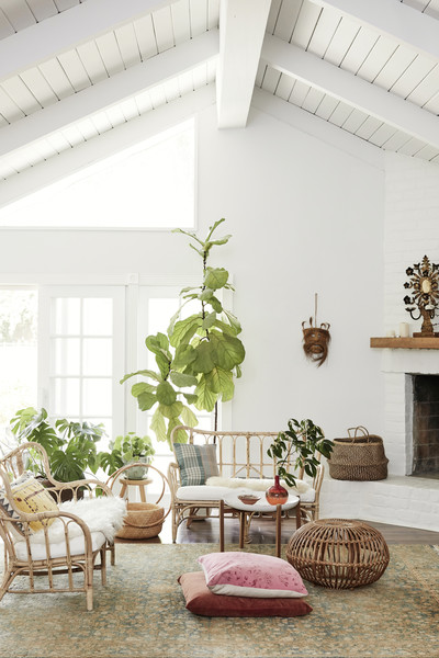 Bohemian Living Room Photos (1 of 255)