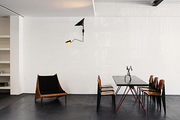 Midcentury modern furniture in a retail space in West Hollywood
