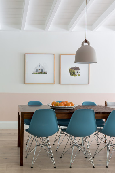 Blue Dining Chairs Photos (1 of 1)