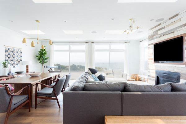 Gray Sectional Photos (1 of 3) []