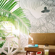 Decorating with Tropical Leaves