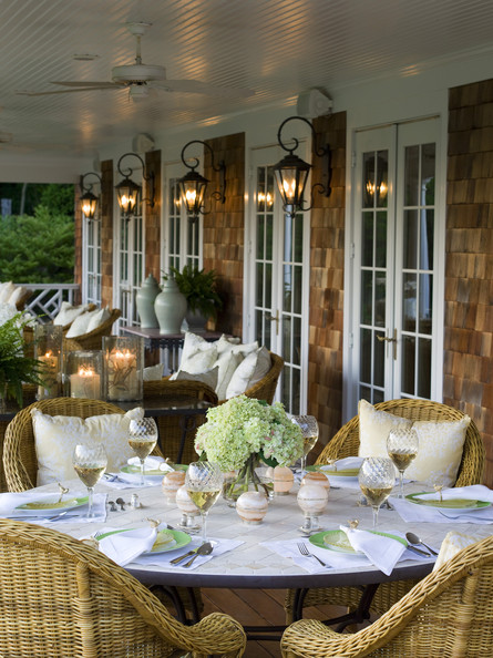 Brown Country Patio