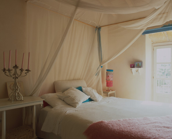Fabric Bed Canopy Photos (28 of 41) []