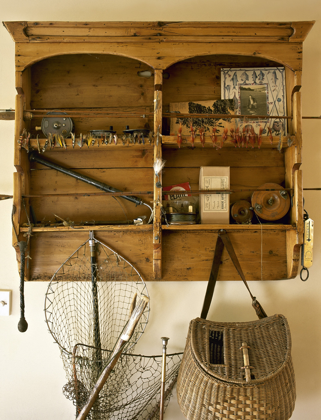 Fishing tackle photos design ideas remodel and decor for Fly fishing decor