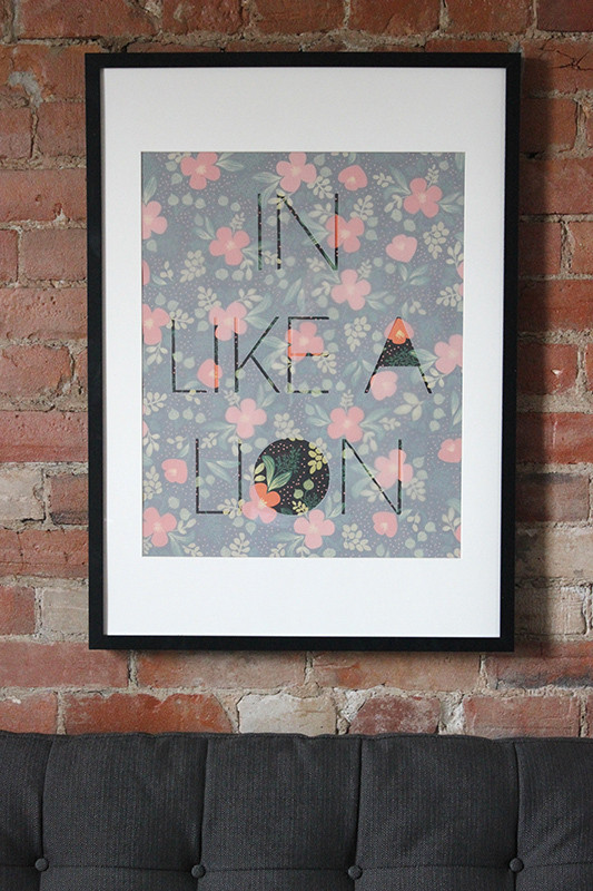 Diy easy framed art do it yourself projects lonny easy diy framed art lonny solutioingenieria Gallery