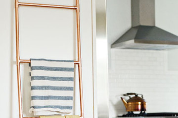 DIY To Try: Copper Display Ladder