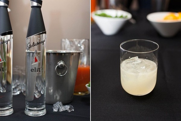 A Shiso Lovely cocktail made with Elit by Stoli.
