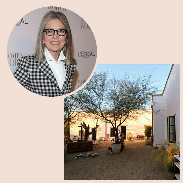 Diane Keaton Dropped $1.5M On A Desert Abode
