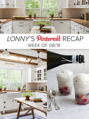 Lonny's Top Pins of the Week: The Perfect Summer Snack & a Sag Harbor Kitchen