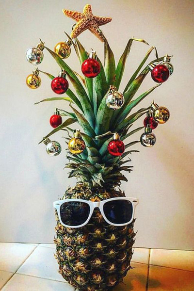 Pineapple Christmas Trees