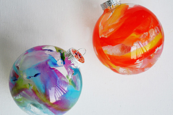 Crayon Ornaments