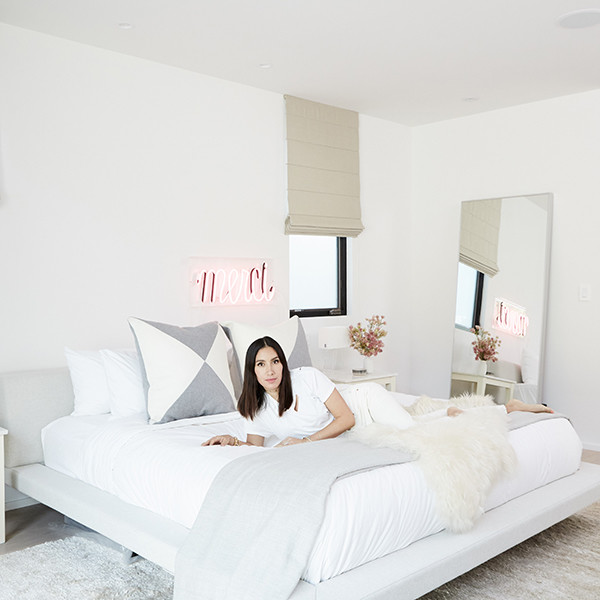 Jen Atkin's Home Is A Glam-Minimalist Haven