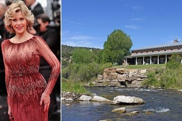 Inside Jane Fonda's Sprawling Santa Fe Ranch