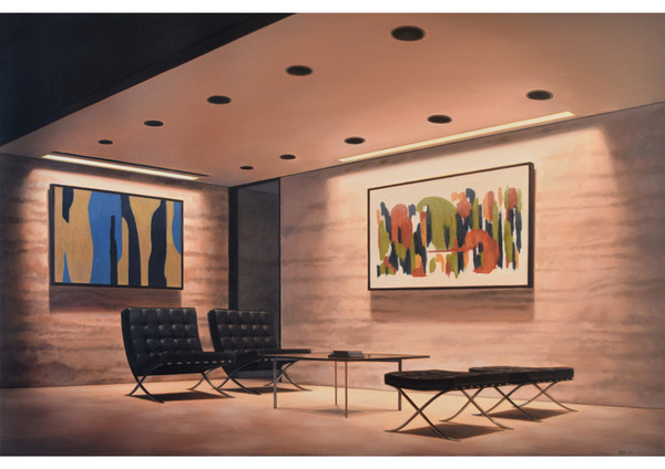 Seagram Building Lobby
