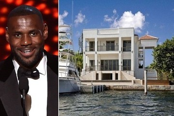 Lebron James's Lavish Miami Mansion