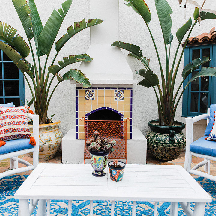 Pattern Rules In This Entrepreneur's Tiled L.A. Pad